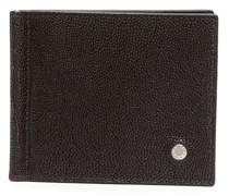 Portemonnaie mit gekörnter Optik