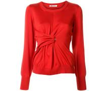 Pullover mit Drapierung