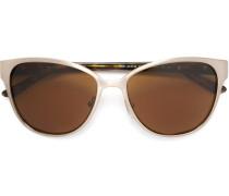 Sonnenbrille mit Logo an den Seiten