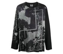 T-Shirt mit abstraktem Print