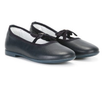 lace-up ballerinas