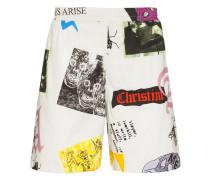"""Shorts mit """"Thrasher""""-Print"""