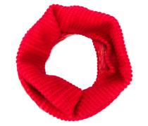 Runder Schal mit kontrastierenden Einsätzen