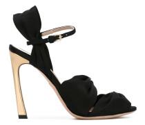 - Sandalen mit Riemen - women - Leder/Satin