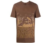 slogan graphic print T-shirt