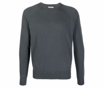 raglan-style crewneck jumper