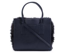 Handtasche mit Pelz-Detail
