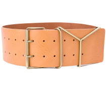 'Y' buckle belt - women - Kalbsleder - 90
