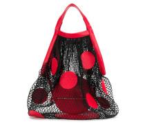Handtasche in Netzoptik