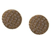 14kt Goldohrstecker mit Diamanten