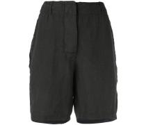 crinkled shorts - women