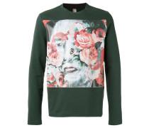 - Sweatshirt mit floralem Print - men - Baumwolle