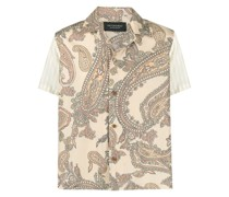 Hawaiihemd mit Paisley-Print