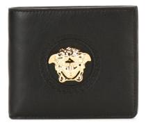 Kalbsleder-Portemonnaie mit Medusa-Emblem