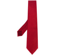 - micro geometric pattern tie - men