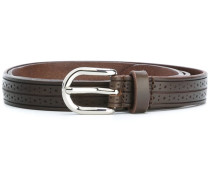 punch-hole detail belt