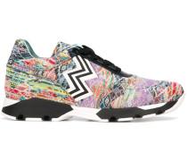 Gestrickte Jacquard-Sneakers