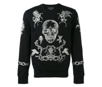 embroidered sweater - men - Baumwolle - L