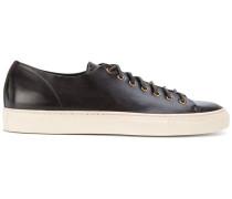 white sole sneakers - men