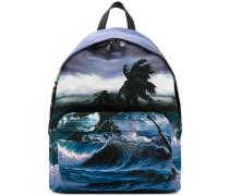 Rucksack mit Ozean-Print