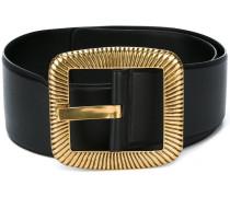 Carrée buckle corset belt