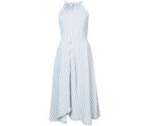 striped flared dress