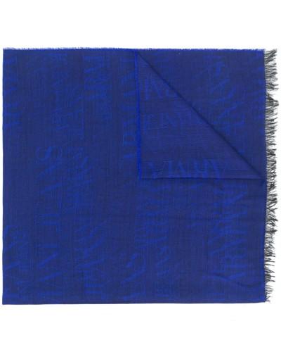 Jacquard-Schal mit Logos