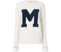 "Pullover mit ""M""-Patch"