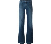 'Libby' Jeans mit weitem Bein