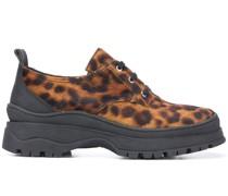'Jesse' Sneakers mit Leoparden-Print