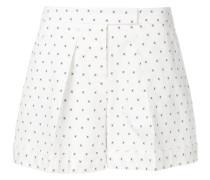 Shorts mit Kreuzmuster