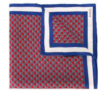 Seideneinstecktuch mit geometrischem Print