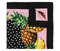 - Seidenhalstuch mit Ananas-Print - women - Seide