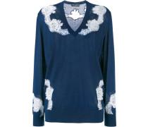 Pullover mit Spitzeneinsätzen - women