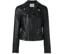 Cropped-Jacke mit Reißverschluss