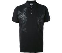 Poloshirt mit Print - men - Baumwolle/Elastan