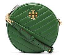 Kira chevron circle crossbody bag