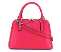- Handtasche mit Logo-Applikation - women