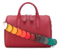 Handtasche mit buntem Schulterriemen - women