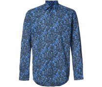 allover abstract print shirt