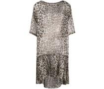 P.A.R.O.S.H. Kleid mit Leoparden-Print
