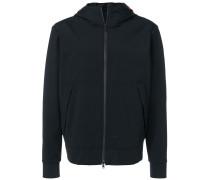 hooded zip-up jacket