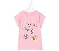 T-Shirt mit Patches - kids