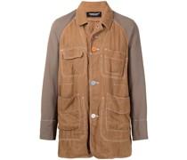 single-breasted lightweight jacket