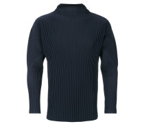 Plissiertes Sweatshirt
