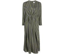 Kleid mit Wickeldetail