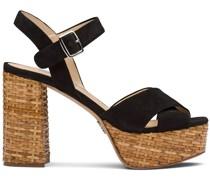 Sandalen mit Plateau, 110mm