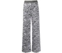 Strickhose mit Zebramuster