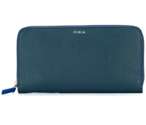 zipped elongated wallet
