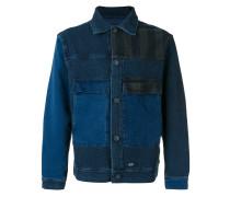 Jeansjacke mit Pattentaschen - men - Baumwolle